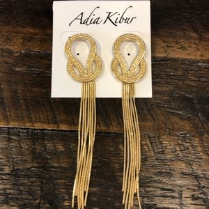 Adia Kibur Figure 8 Dangle Earrings